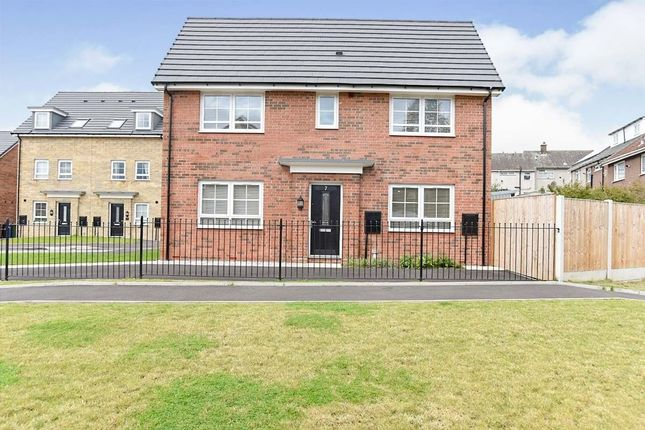 Thumbnail Detached house to rent in Spinning Close, Hyde