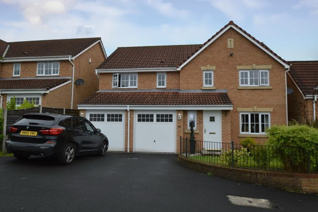 Thumbnail Detached house for sale in Ashurst Grove, Radcliffe, Manchester