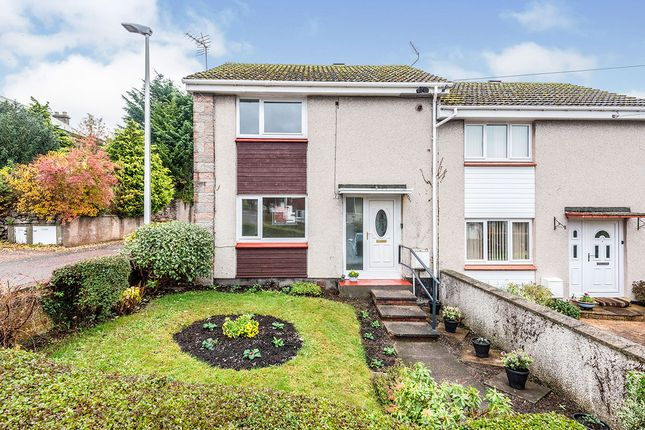 Thumbnail End terrace house for sale in Hainings Road, Forres, Moray