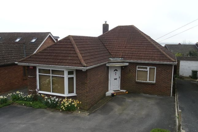 Thumbnail Detached bungalow for sale in Hill Road, Portchester