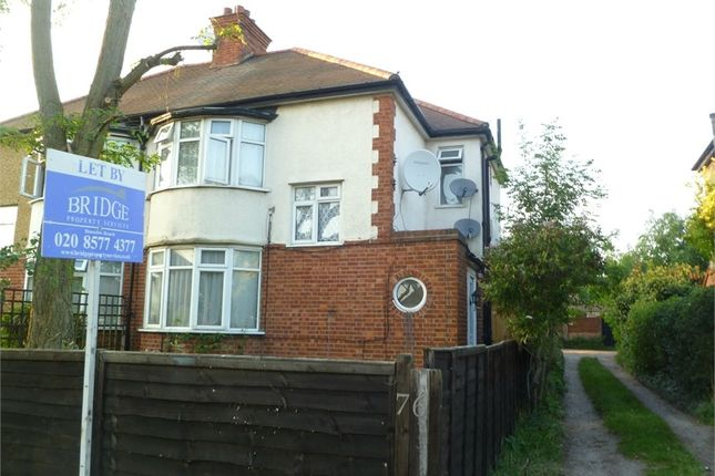 Thumbnail Maisonette to rent in Staines Road, Feltham, Greater London