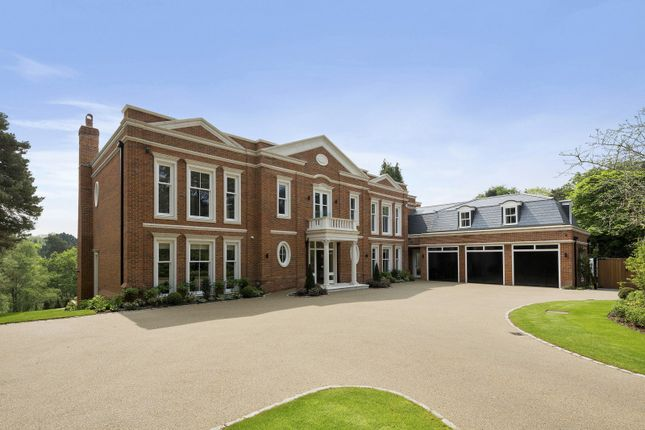 Thumbnail 5 bedroom detached house for sale in Brooks Close, St. Georges Hill, Weybridge