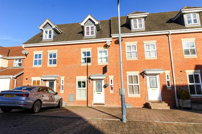 Thumbnail Terraced house for sale in Caliban Mews, Heathcote, Warwick