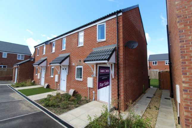 Thumbnail End terrace house for sale in Grange Way, Durham
