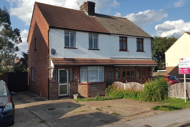 Thumbnail Semi-detached house for sale in Honeycrock Lane, Salfords, Redhill