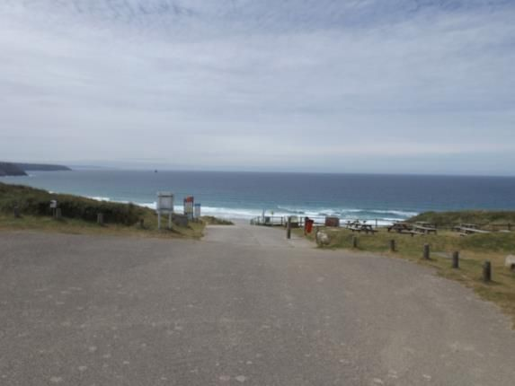 Sea/Beach Access of Perran Sands Holiday Park, Perranporth, Cornwall TR6