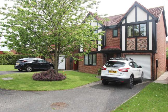 Thumbnail Detached house for sale in Daylesford Road, Hartford Dale, Cramlington