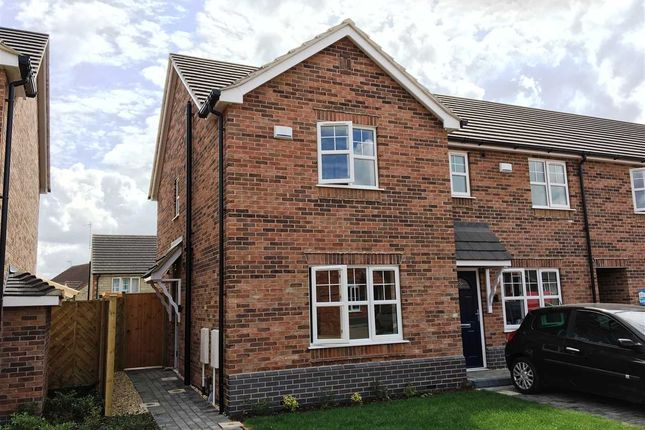 Thumbnail Town house to rent in Bilberry Close, Burdock Gardens, Scunthorpe