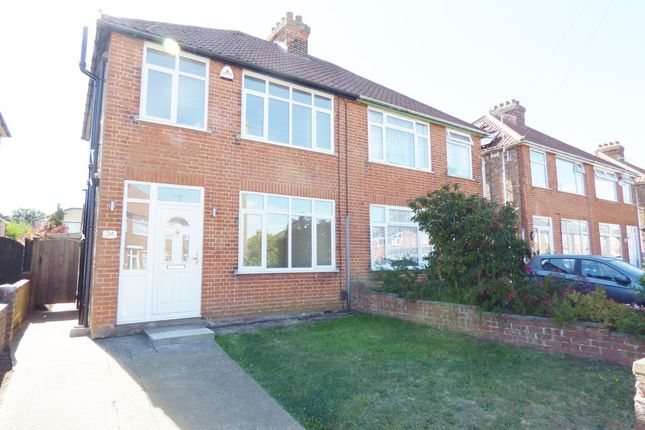 Thumbnail Semi-detached house for sale in Clarence Road, Ipswich