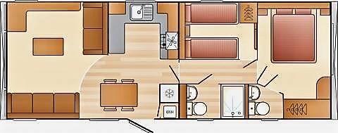 Floorplan of Looe Bay, St. Martin, Looe PL13