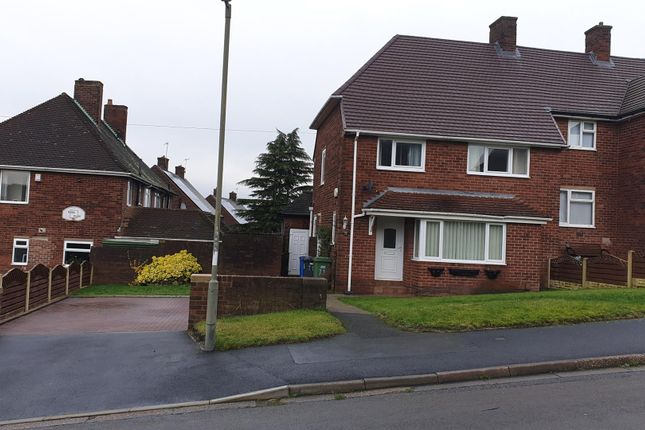 Thumbnail Semi-detached house to rent in Coniston Road, Newbold, Chesterfield