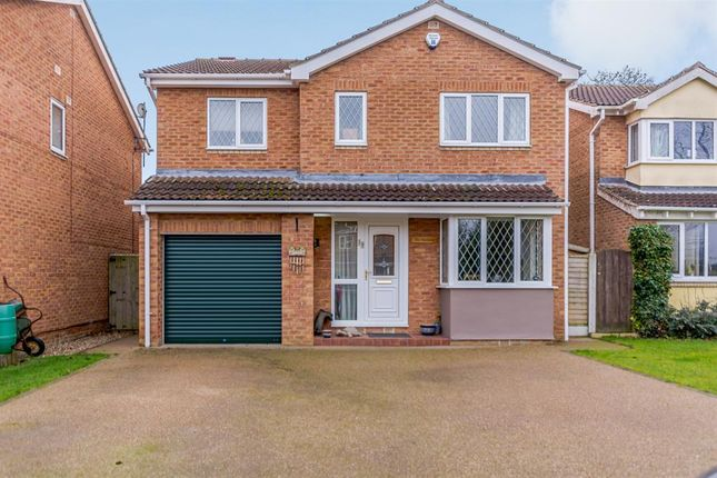 Thumbnail Detached house for sale in Church Close, Tollerton