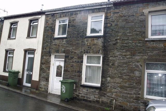 Thumbnail Terraced house to rent in Strand Street, Newtown, Mountain Ash