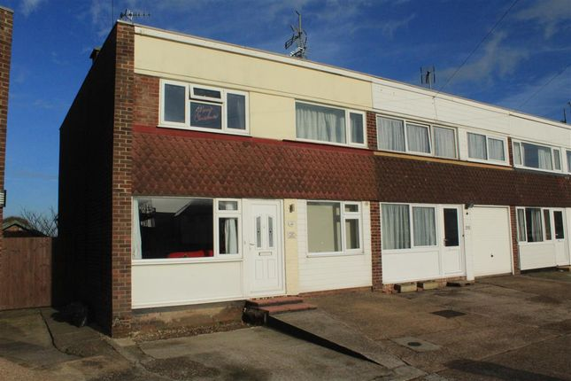 Thumbnail End terrace house for sale in Coast Road, Pevensey Bay, Pevensey