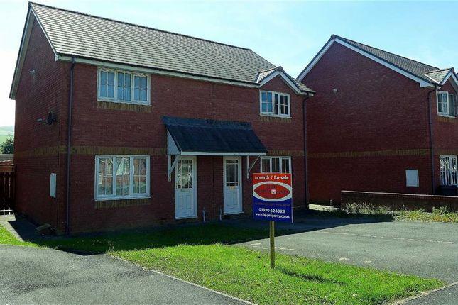 Thumbnail Semi-detached house for sale in Maesmawr, Aberystwyth, Ceredigion