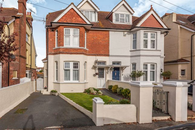 Thumbnail Semi-detached house for sale in St. Georges Road, Bexhill-On-Sea