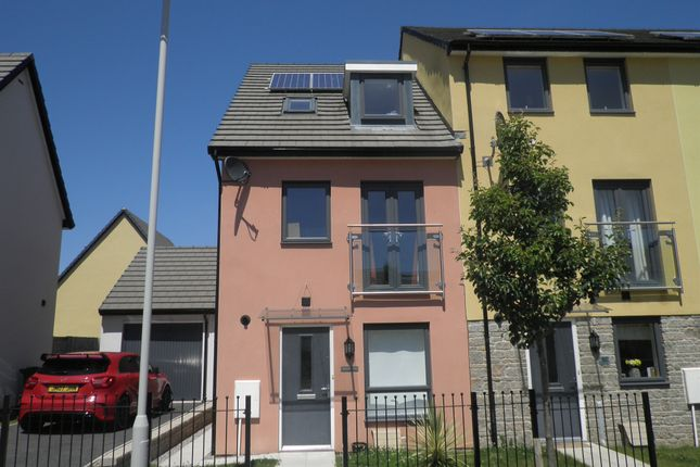 Thumbnail End terrace house for sale in Limeburners Road, Plymouth