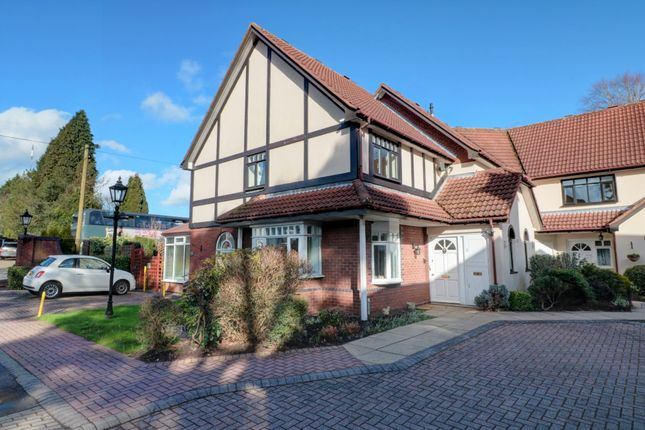Thumbnail Town house for sale in Dovecotes, Four Oaks, Sutton Coldfield