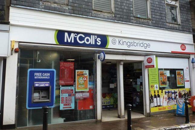 Retail premises for sale in Kingsbridge, Devon