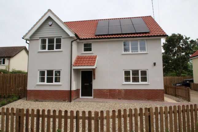 Thumbnail Detached house to rent in Shop Street, Worlingworth, Woodbridge