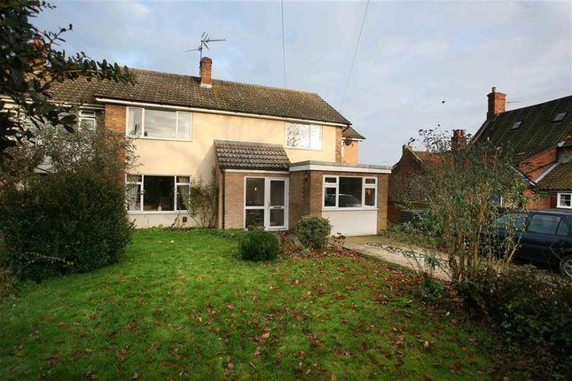 Thumbnail Semi-detached house for sale in Thurgarton Road, Aldborough, Norwich