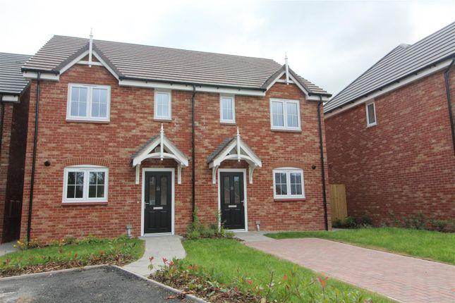 Thumbnail Semi-detached house for sale in Plot 10, 20 James Way, Baschurch, Shrewsbury