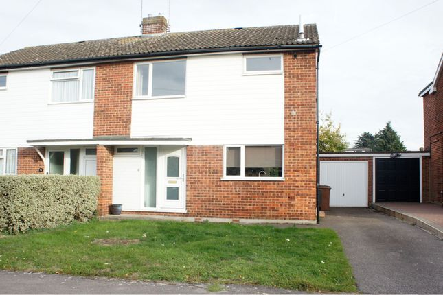 Thumbnail Semi-detached house for sale in Canford Close, Chelmsford