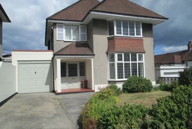 Thumbnail Detached house to rent in Parc Wern Road, Sketty, Swansea.