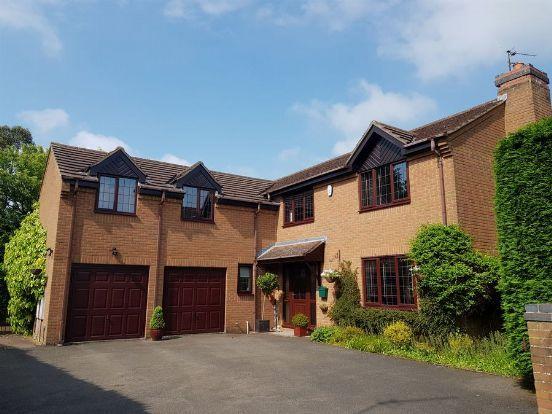 Thumbnail Detached house for sale in Alibone Close, Moulton, Northampton