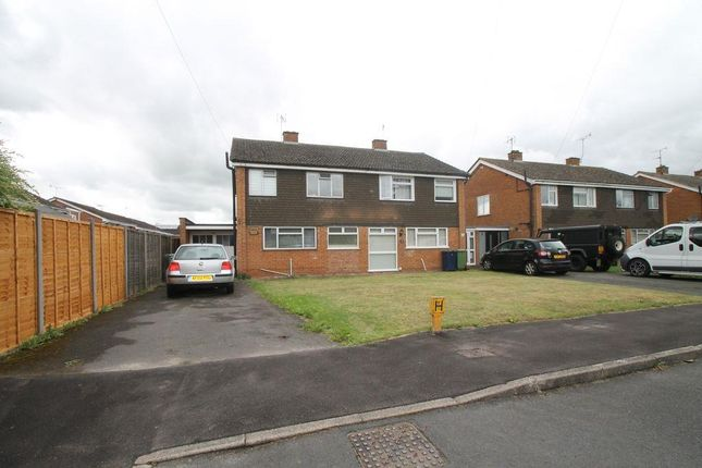 Semi-detached house for sale in Wellfield, Tewkesbury