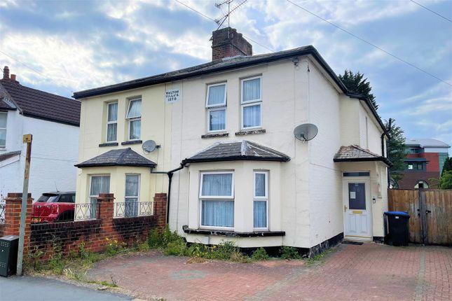 Thumbnail Semi-detached house to rent in Walton Road, Woking