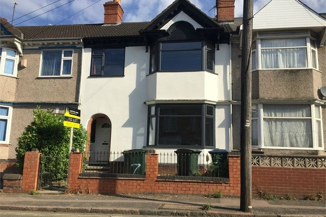 Thumbnail Terraced house to rent in Gulson Road, Stoke, Coventry, West Midlands