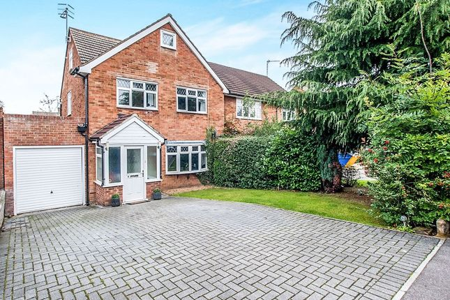 Thumbnail Semi-detached house for sale in Comet Close, Leavesden, Watford