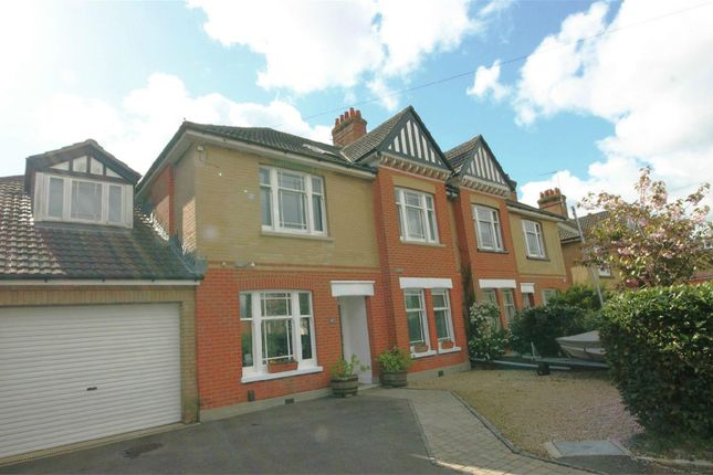 Thumbnail Semi-detached house for sale in North Road, Parkstone, Poole