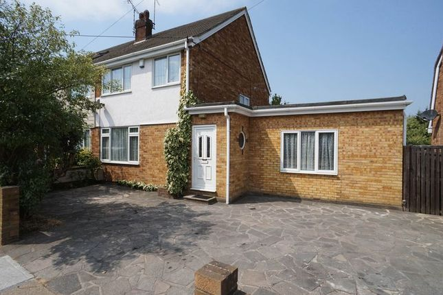 Thumbnail Semi-detached house for sale in Selbourne Road, Benfleet