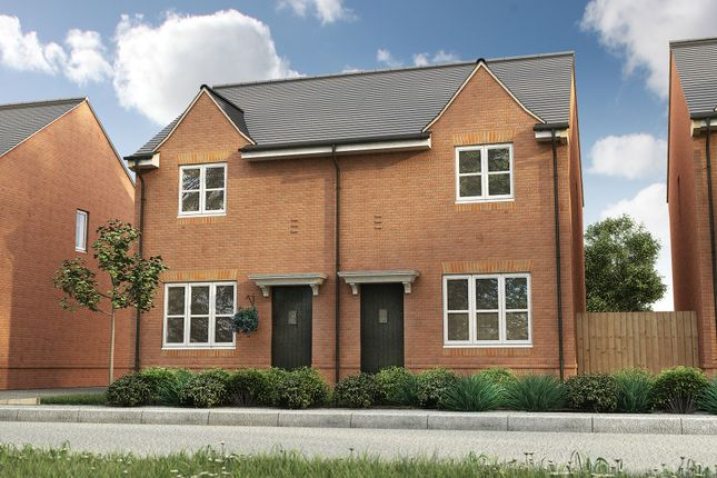 Thumbnail Semi-detached house for sale in Roman Road, Bobblestock, Hereford