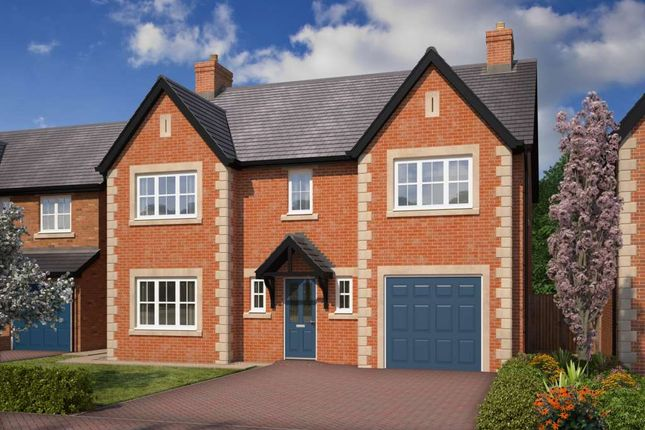 Thumbnail Detached house for sale in The Balmoral, Brookwood Park, Blackpool Road, Kirkham