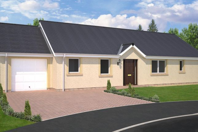 Thumbnail Bungalow for sale in Plot 9, The Fairbairn, East Broomlands, Kelso