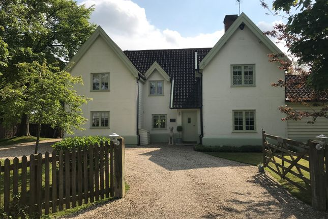 Thumbnail Detached house for sale in Coney Weston, Bury St Edmunds, Suffolk