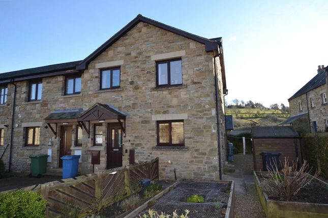Thumbnail Terraced house for sale in The Maltings, Rothbury, Morpeth