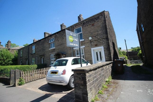 Thumbnail End terrace house to rent in High Street East, Glossop