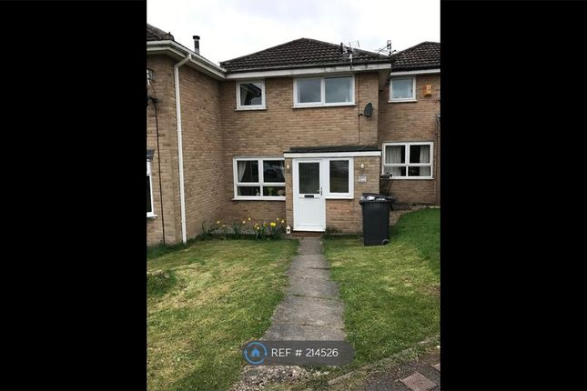 Thumbnail Terraced house to rent in Hallam Way, West Hallam