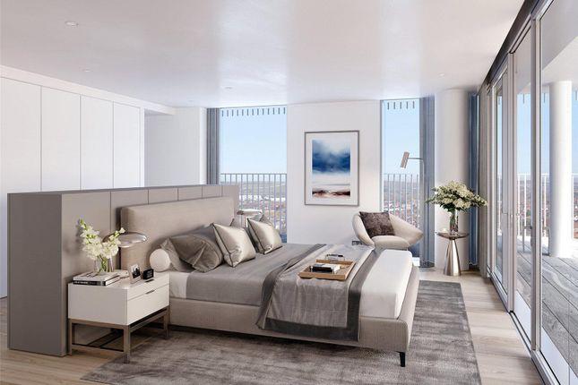 Bedroom 1- CGI of Bayside Apartments, Brighton Road BN11
