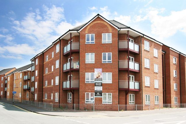Thumbnail Flat to rent in Hassell Street, Newcastle-Under-Lyme