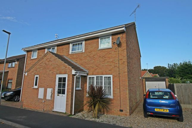 Thumbnail Semi-detached house for sale in Fallowfield, Hemsby, Great Yarmouth