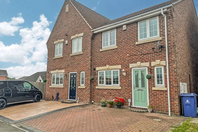 Thumbnail Semi-detached house for sale in 17 Harewood Close, Balby, Doncaster