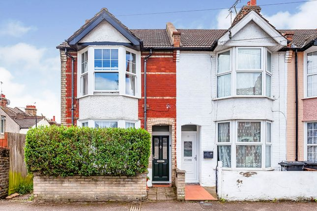 Thumbnail End terrace house for sale in Chester Road, Watford, Hertfordshire