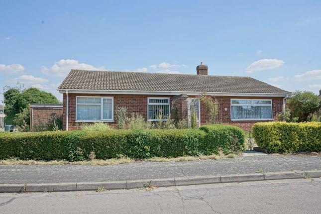 Thumbnail Detached bungalow for sale in Laurels Close, Eynesbury, St. Neots