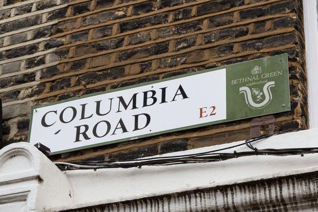 Street of Ezra Street, London E2