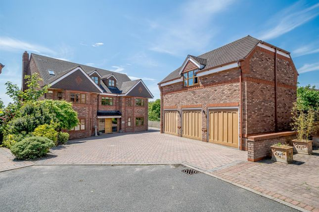 Thumbnail Detached house for sale in The Lane, Coppenhall, Stafford